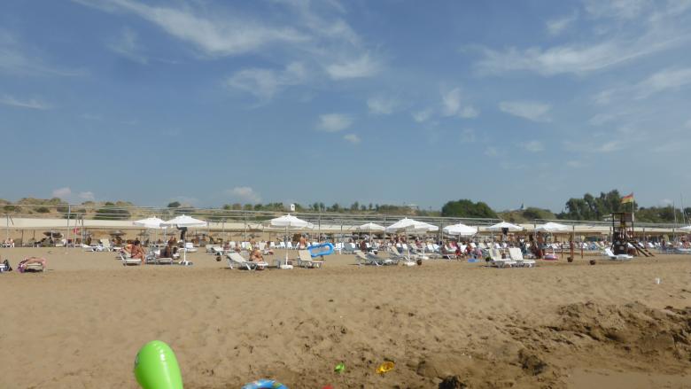 nicht überlaufen am Strand - Tui Magic Life Imperial Side Türkei - Videoleben