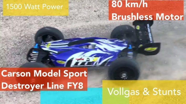 Carson Model Sport Destroyer Line FY8 - Videoleben - Freizeittipps Urlaubstipps Produkttests Backrezepte Kochrezepte Familyeller Marcel Eller