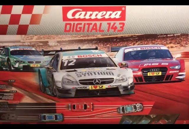 Carrera DIGITAL 143 Autorennbahn - Videoleben - Freizeittipps Urlaubstipps Produkttest Geschenkideen