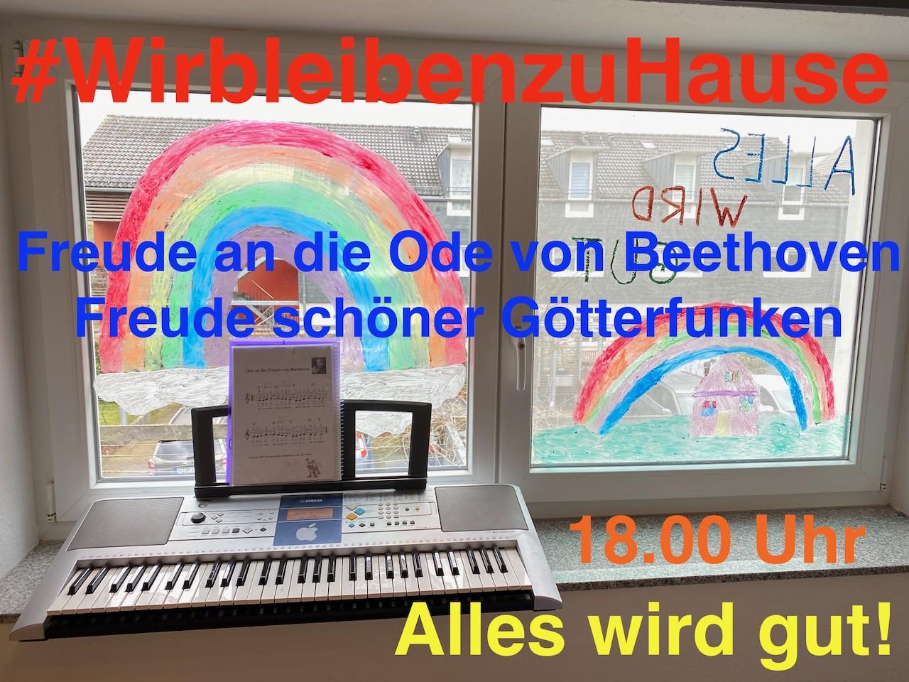 Ode an die Freude von Beethoven - Freude schöner Götterfunken - Alles wird gut - Videoleben