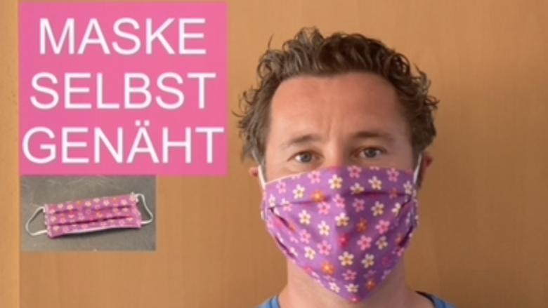 Atemschutzmaske selbst genäht - Videoleben