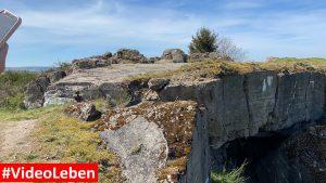 Blick auf den Luftschutzbunker oberhalb von Wollseifen - lost places - Geisterdorf im Nationalpark Eifel - Videoleben