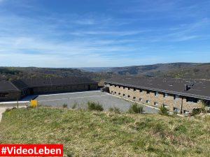 Blick von oben - ehemalige NS-Ordensburg Vogelsang im Nationalpark Eifel - Videoleben