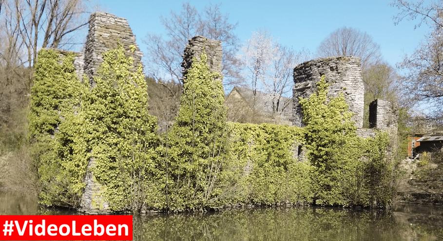 Burg Eibach bei Eibach im oberbergischen Land - Videoleben