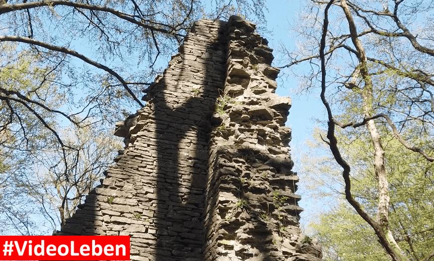 Burg Neuenberg bei Eibach im oberbergischen Land - Videoleben