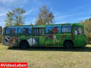 Bus Nationalpark Eifel - ehemalige NS-Ordensburg Vogelsang - Videoleben