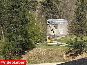 Denkmal - ehemalige NS-Ordensburg Vogelsang im Nationalpark Eifel - Videoleben