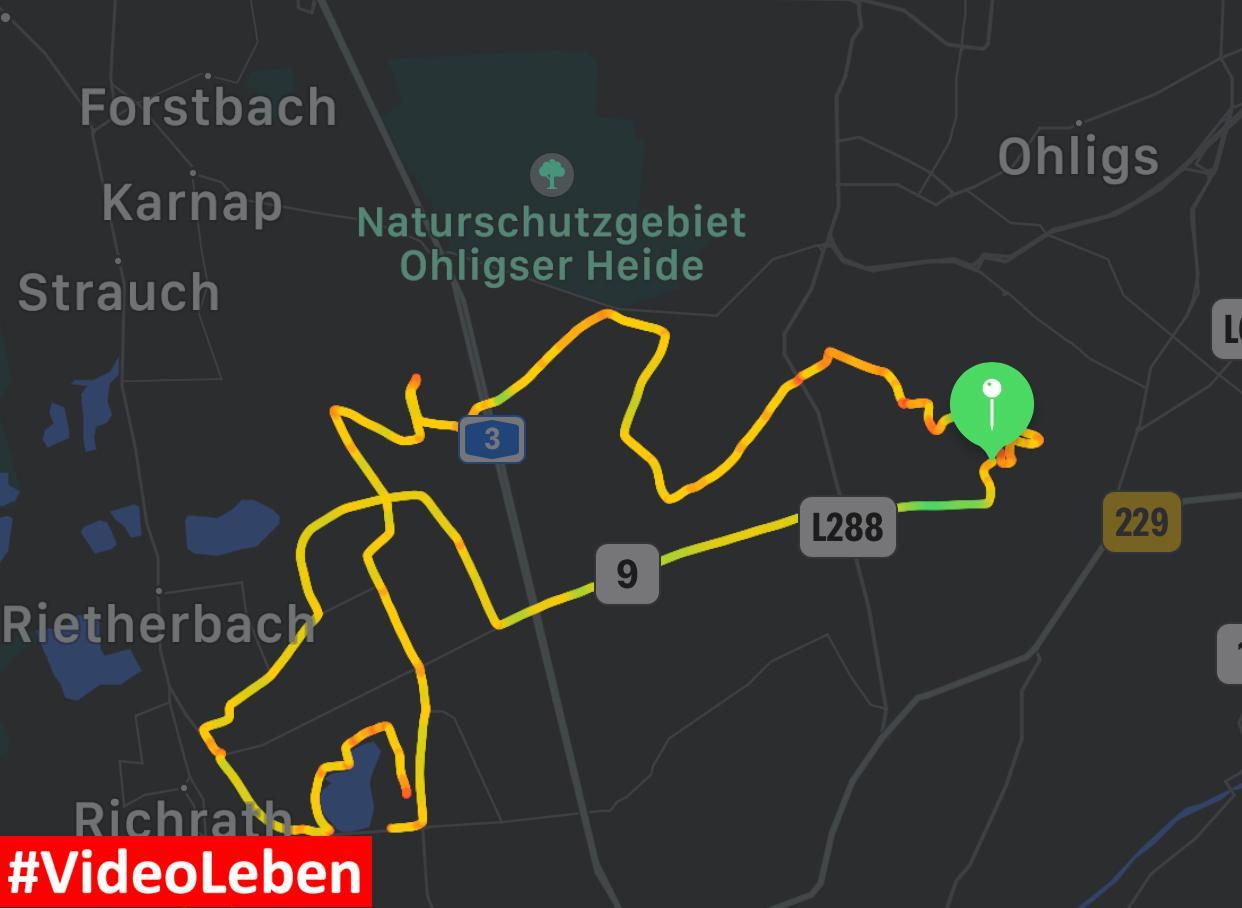 Familienfahrradtour durch Solingen Hilden und Langenfeld- Videoleben