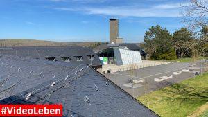Fernblick - ehemalige NS-Ordensburg Vogelsang im Nationalpark Eifel - Videoleben