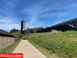 Festungsturm - ehemalige NS-Ordensburg Vogelsang im Nationalpark Eifel - Videoleben