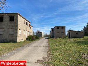 Häuser des ehemaligen Nahkampfes in Wollseifen - lost places - Geisterdorf im Nationalpark Eifel - Videoleben