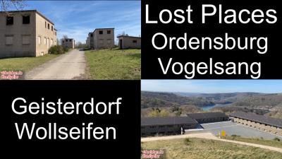 Lost Places - Geisterdorf Wollseifen und ehemalige NS-Ordensburg Vogelsang - Videoleben