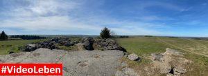 Panoramablick vom Luftschutzbunker oberhalb von Wollseifen - lost places - Geisterdorf im Nationalpark Eifel - Videoleben