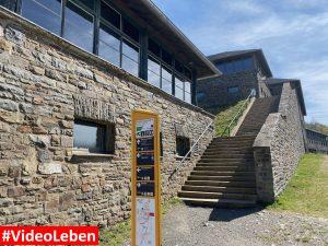 Treppen - ehemalige NS-Ordensburg Vogelsang im Nationalpark Eifel - Videoleben