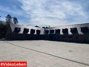 großer Platz - ehemalige NS-Ordensburg Vogelsang im Nationalpark Eifel - Videoleben