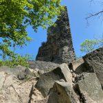 hoher Burgturm Tomburg - Tomberg - Rheinbacher Wald - Videoleben