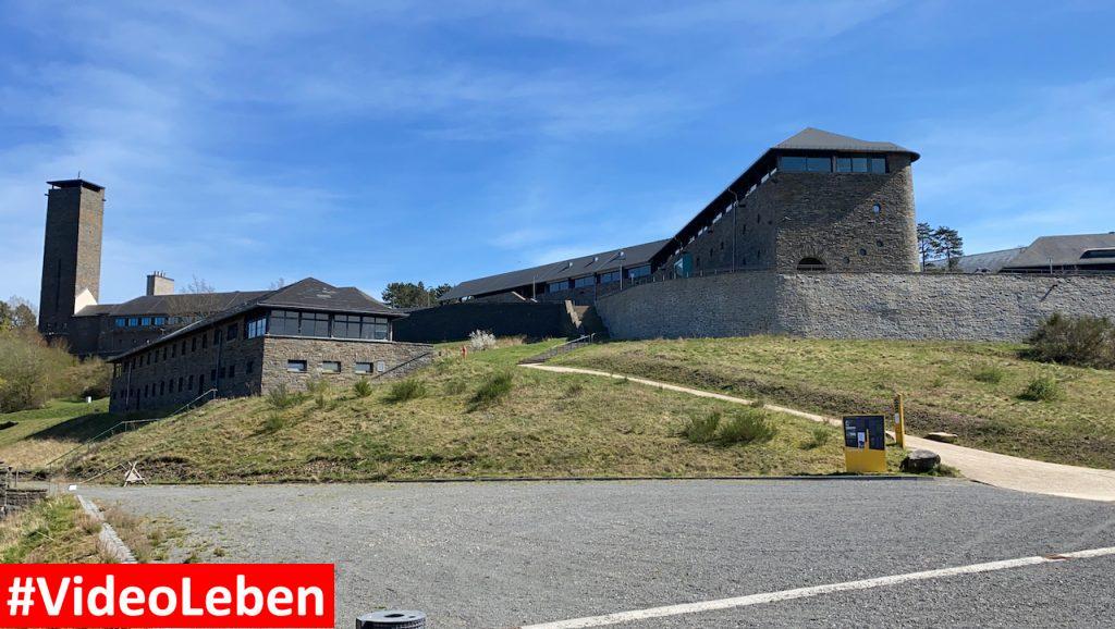 imposant - ehemalige NS-Ordensburg Vogelsang im Nationalpark Eifel - Videoleben