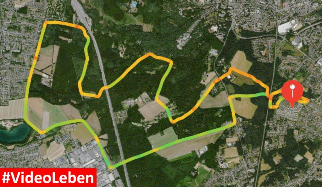 kurze Radtour durch die Ohligser Heide - Videoleben