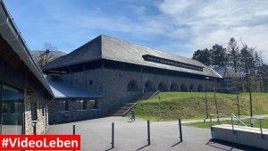 mitten in der ehemaligen NS-Ordensburg Vogelsang im Nationalpark Eifel - Videoleben