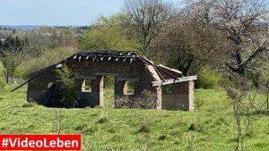 nicht mehr viel steht in Wollseifen - lost places - Geisterdorf im Nationalpark Eifel - Videoleben
