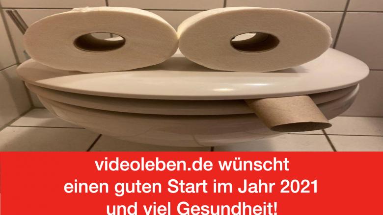 Videoleben.de wünscht einen guten Start im Jahr 2021 und viel Gesundheit