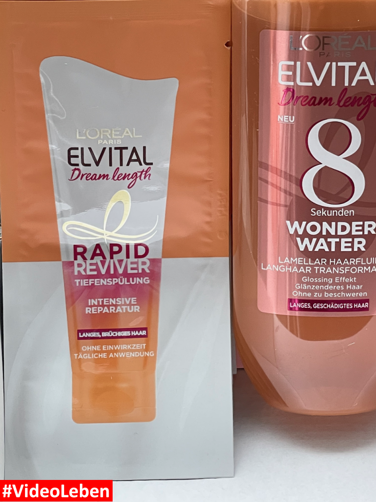 L´OREAL PARIS ELVITAL - Dream length - 8 Sekunden WONDER WATER - Haarfluid mit Glossing Effekt