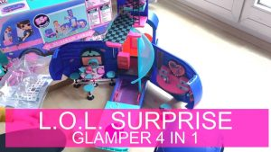 LOL Surprise 4-in-1 Glamper Fashion Camper