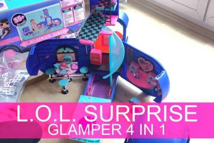 LOL Surprise 4-in-1 Glamper Fashion Camper - Mit 55+ Überraschungen, 10+ Hangout-Bereiche OMG Serie #Videoleben