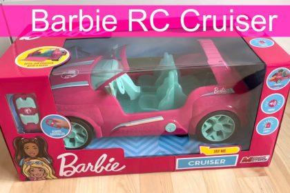 Mondo Motors – Mattel Barbie Cruiser – RC Cruiser für Kinder von Barbie – SUV 4-Sitzer – 63647