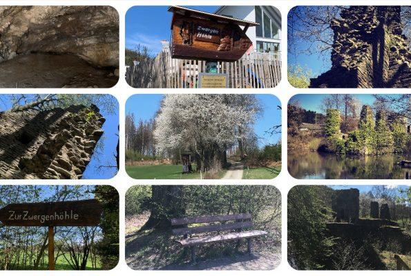 Oberbergisches Land   Zwergenhöhle - Burg Eibach & Neuenberg - Rudi-Hoffmann-Pfad & Luftaufnahmen - Videoleben - Ausflugstipps bei Corona