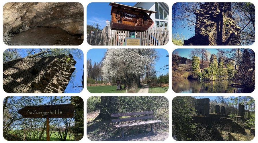 Oberbergisches Land | Zwergenhöhle - Burg Eibach & Neuenberg - Rudi-Hoffmann-Pfad & Luftaufnahmen - Videoleben - Ausflugstipps bei Corona