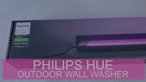 Philips Hue Outdoor Lampe Amarant – Outdoor Wall Washer & Philips Hue Outdoor 40W Niedervolt Netzteil