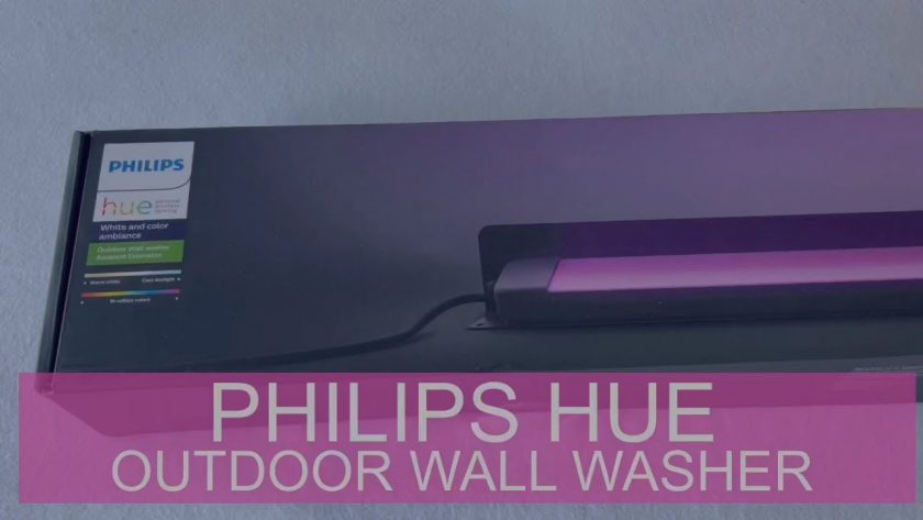 Philips Hue Outdoor Lampe - Outdoor Wall Washer & Philips Hue Outdoor 40W Niedervolt Netzteil #Videoleben