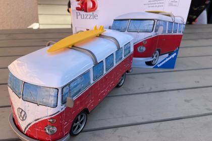 Ravensburger 3D Puzzle Volkswagen T1 Surfer Edition - Videoleben