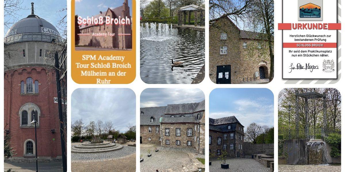 Schloss Broich Mülheim an der Ruhr - Sir Peter Morgan - Outdoor Rätseltouren - Stadtrallye - moderne Schnitzeljagd - #Videoleben