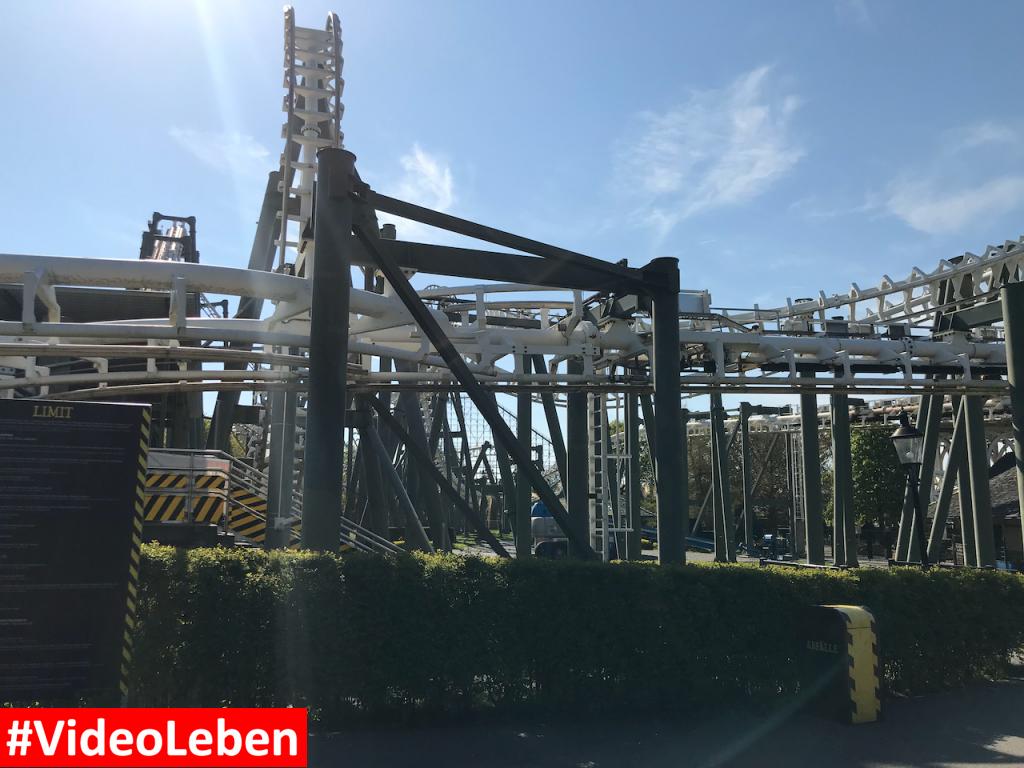 Achterbahn - Heide-Park Resort Soltau #Videoleben