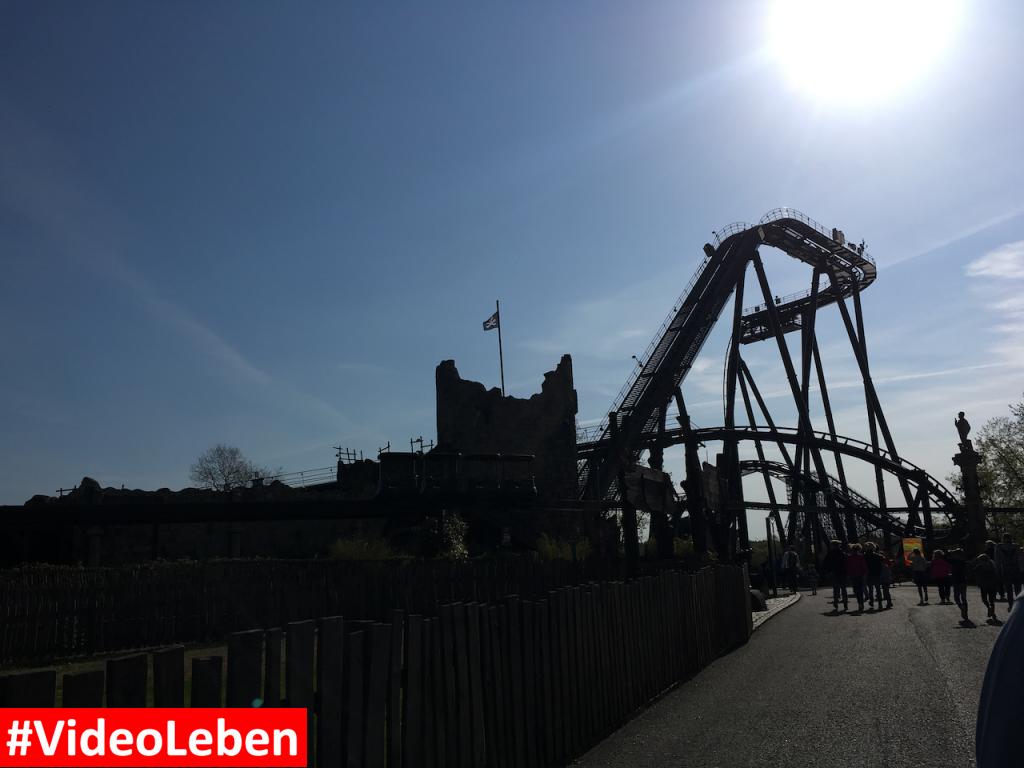 Achterbahn Krake am Morgen - Heide-Park Resort Soltau #Videoleben