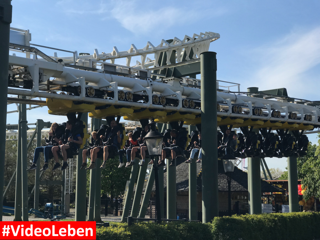 Achterbahn Limit - Heide-Park Resort Soltau #Videoleben