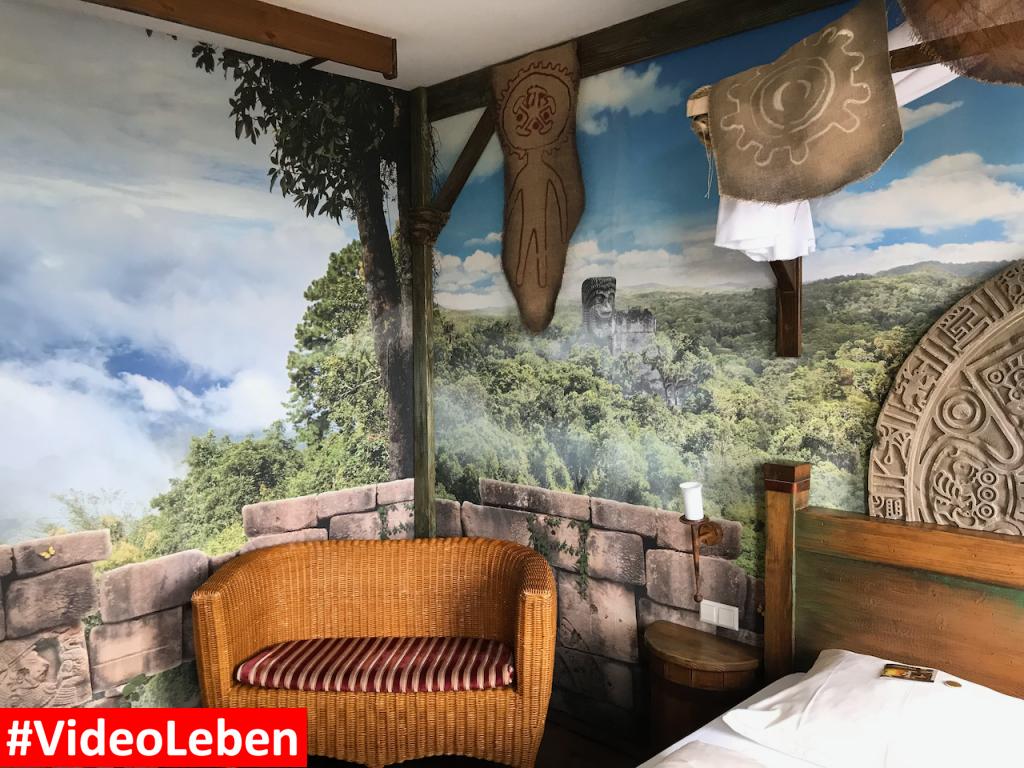 Bank im Dschungelzimmer - Heide-Park Resort Soltau #Videoleben