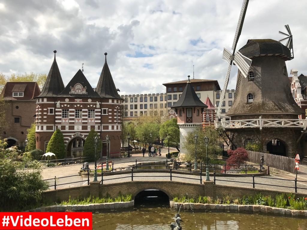 Blick auf das Abenteuerhotel - Heide-Park Resort Soltau #Videoleben