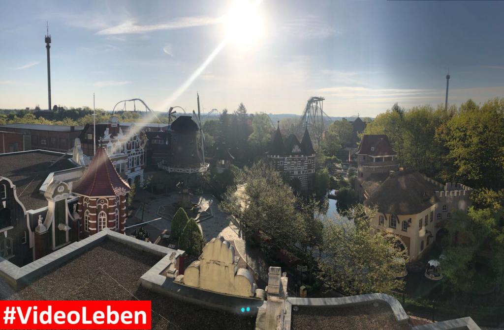 Blick aus dem Abenteuerhotelzimmer - Heide-Park Resort Soltau #Videoleben
