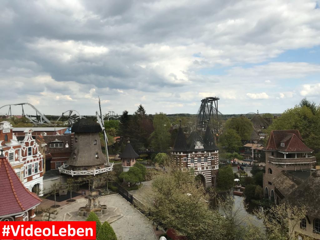Blick aus dem Dschungelzimmer im Abenteuerhotel - Heide-Park Resort Soltau #Videoleben
