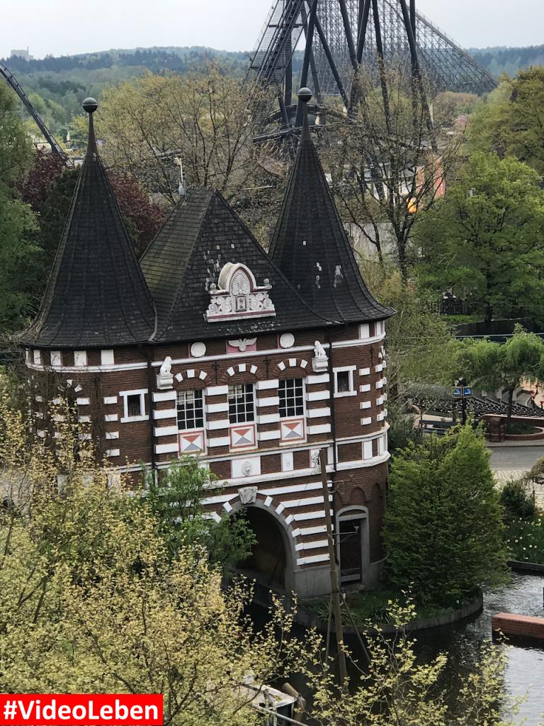 Blick in den Heidepark - Heide-Park Resort Soltau #Videoleben