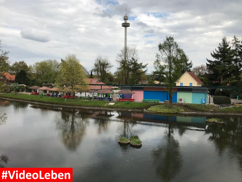 Blick von der Monorail - Heide-Park Resort Soltau #Videoleben