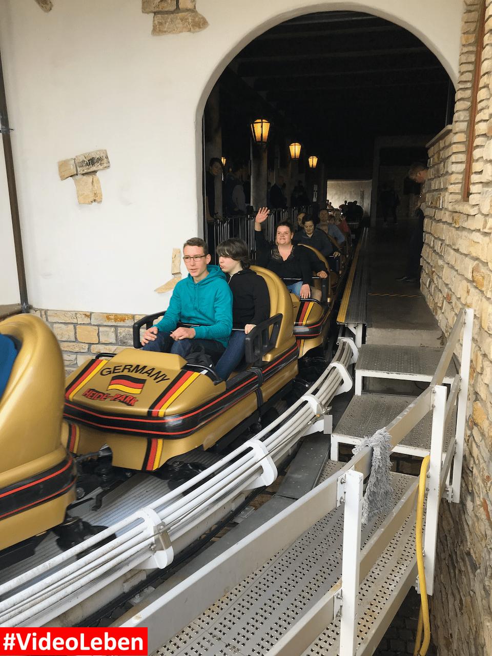 Bobbahn - Heide-Park Resort Soltau #Videoleben