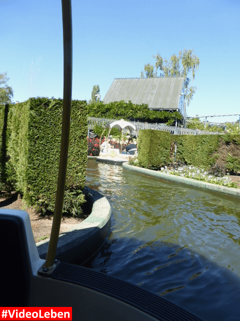 Bootvaart gemütlich Bobbejaanland Belgien #Videoleben