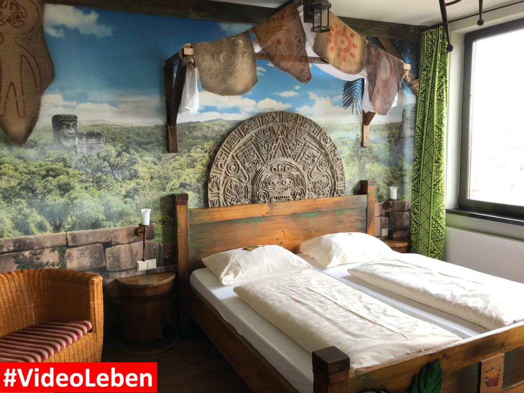 Doppelbett im Dschungelzimmer - Heide-Park Resort Soltau #Videoleben