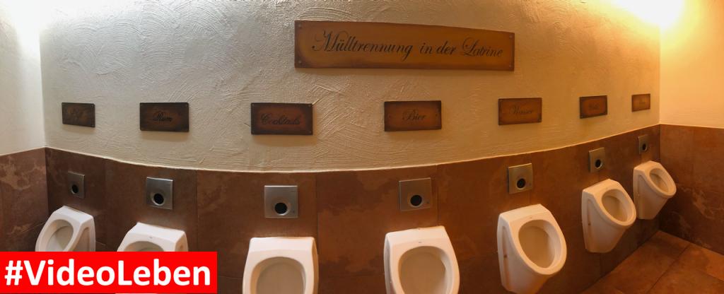 Herrentoilette im Abenteuerhotel - Heide-Park Resort Soltau #Videoleben