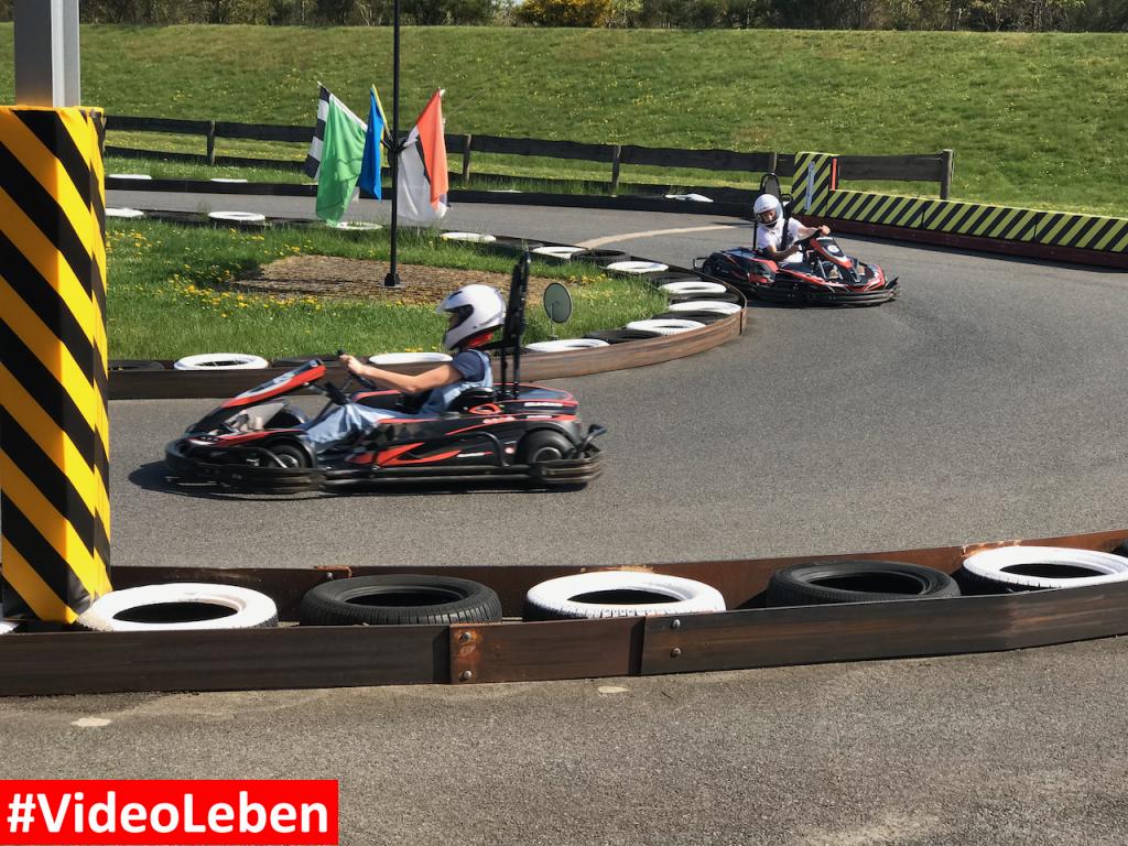 Kart fahren - Heide-Park Resort Soltau #Videoleben