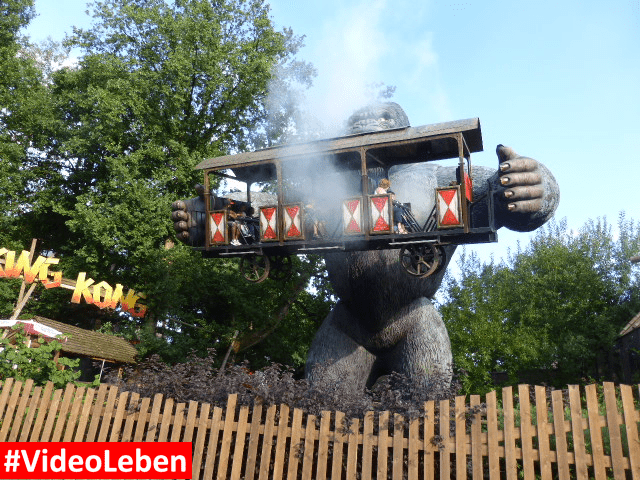 King Kong Nebel Bobbejaanland Belgien #Videoleben